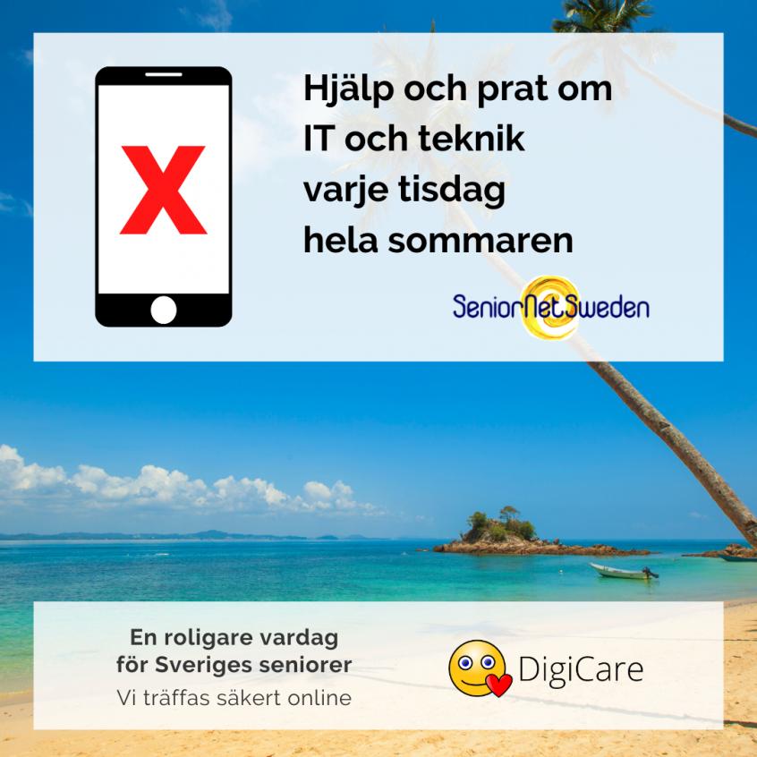 Seniornet Örebro träff i sommar